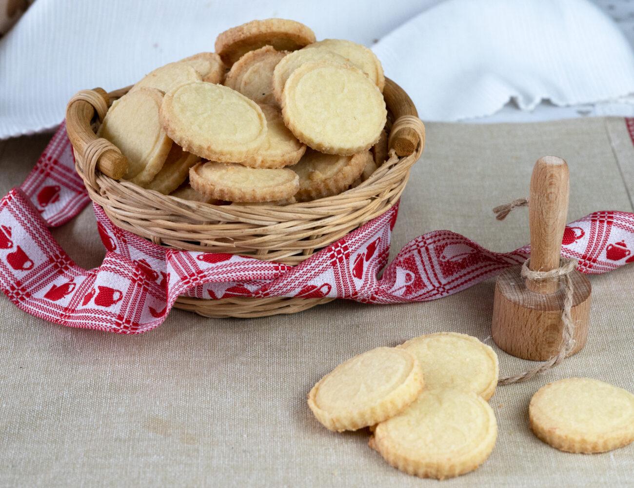 Maslové sušienky s kokosom