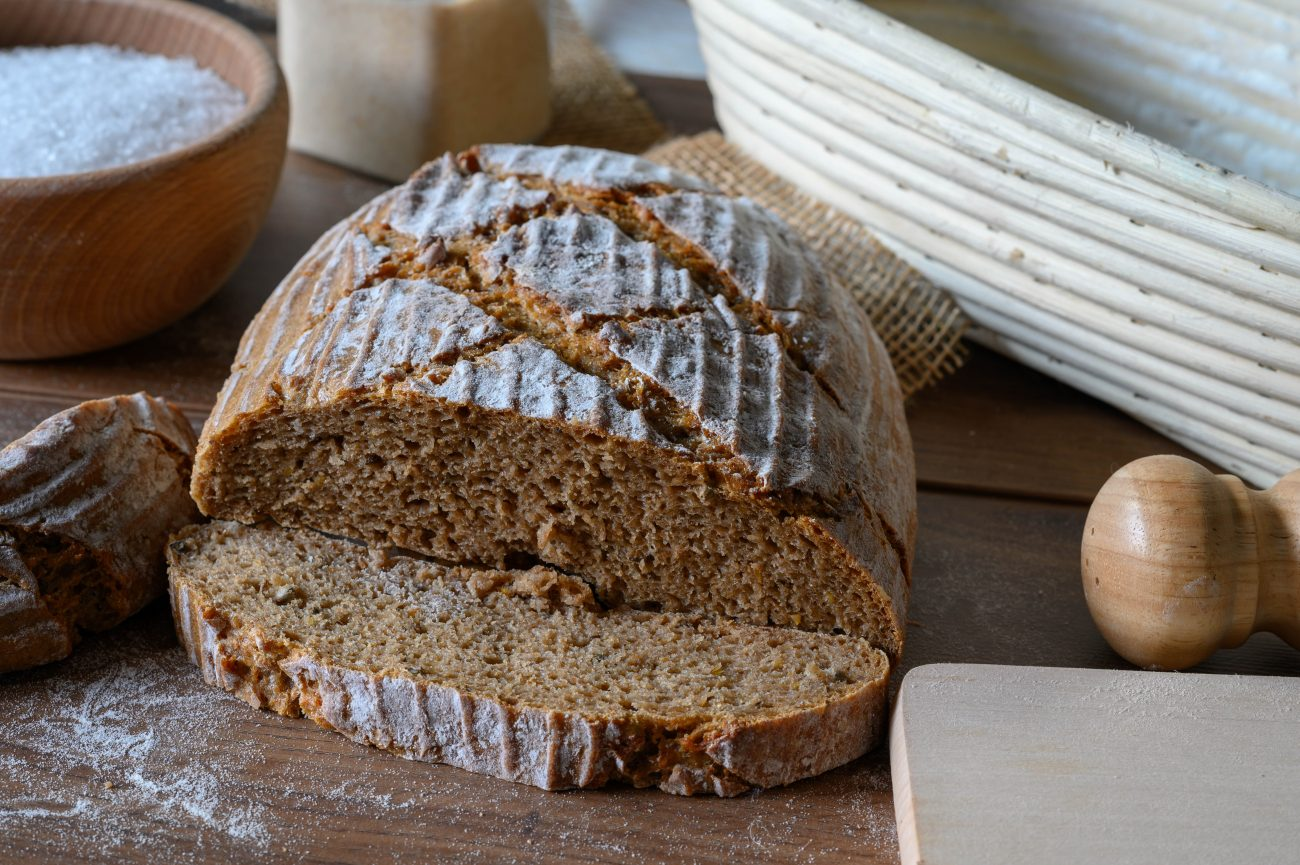 Ražný kváskový chlieb